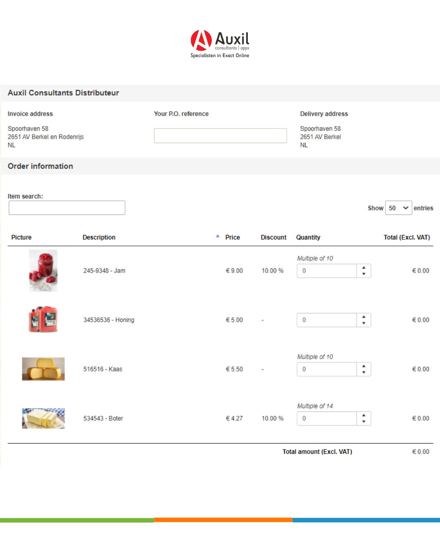 Distributeurs portaal website